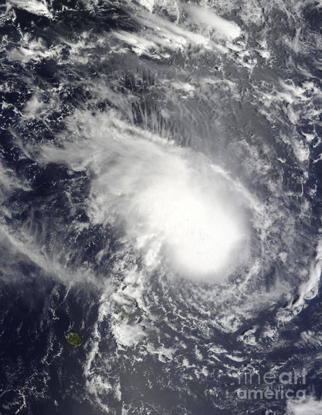 Photograph - Tropical Cyclone Gael Approaching by Stocktrek Images