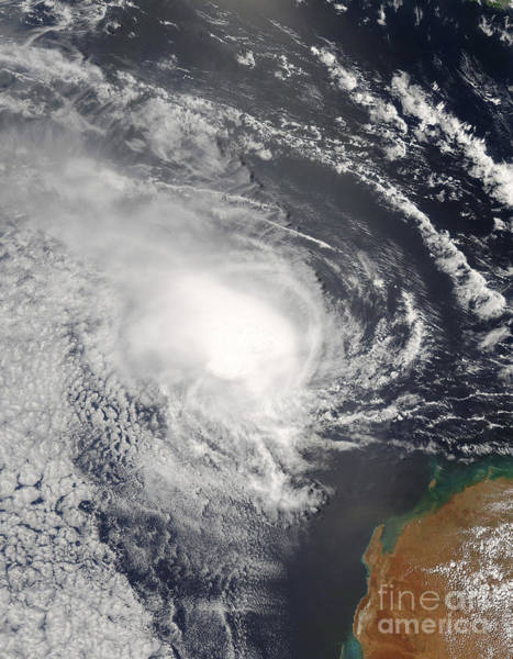 Photograph - Tropical Cyclone Jacob Approaching by Stocktrek Images