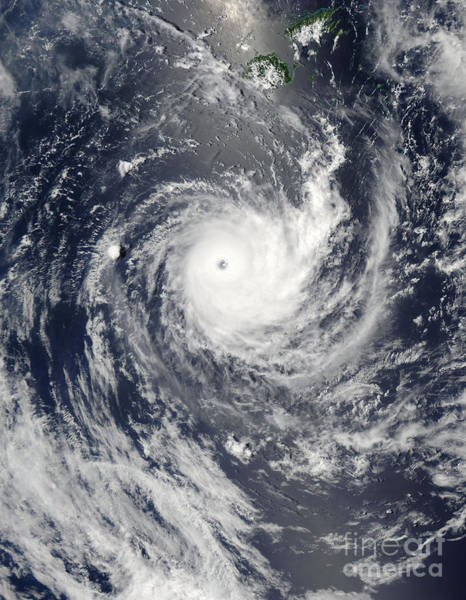 Photograph - Tropical Cyclone Wilma by Stocktrek Images