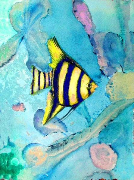 Painting - Tropical Fish I by Gary Partin