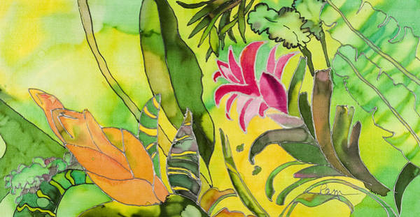 Tulipan Painting - Tropical by Pam Munn