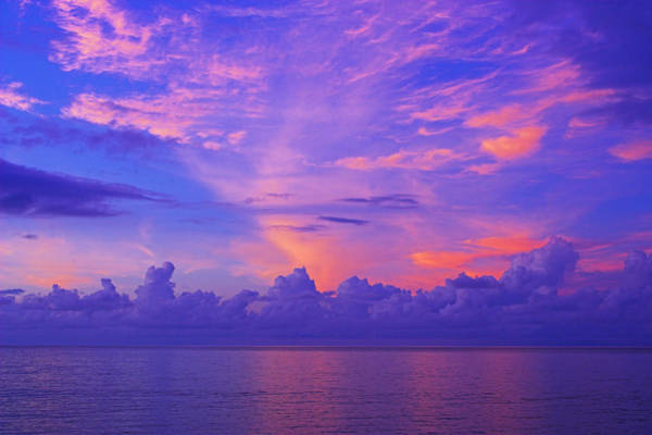 Wall Art - Photograph - Tropical Sunset 3- St Lucia by Chester Williams