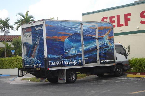 Chen Digital Art - Truck Wraps by Carey Chen