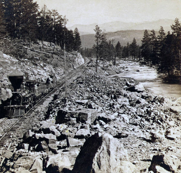 Donner Photograph - Truckee River - California - C 1865 by International  Images