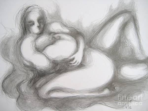 True Despair And A Golden Heart II Art Print