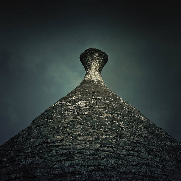 Roof Top Photograph - Trullo by Joana Kruse