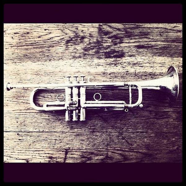 Jazz Wall Art - Photograph - Trumpet by Giuseppe Anello