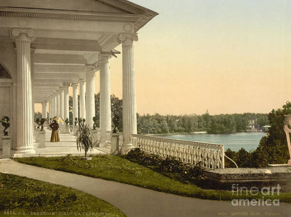 Imperial Russia Photograph - Tsarskoye Selo, Turn Of The Century View by Photo Researchers