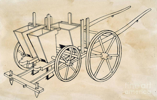 Photograph - Tull: Seed Drill by Granger