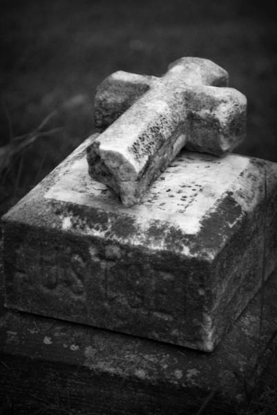 Photograph - Tumbled Cross by Lora Mercado