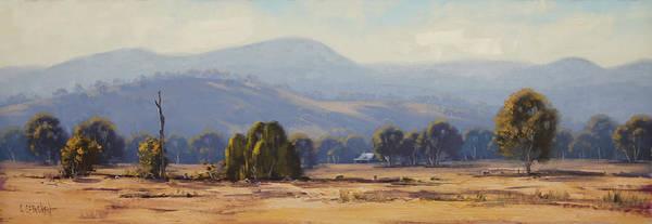 Wall Art - Painting - Tumut Landscape by Graham Gercken