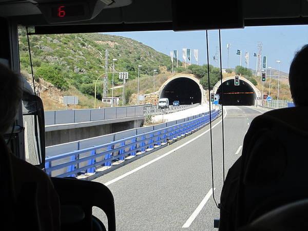 Photograph - Tunnel Towards Costa Del Sol II Spain by John Shiron