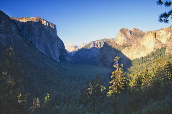 George Canyon Photograph - Tunnel View Of The Yosemite Valley by George Oze