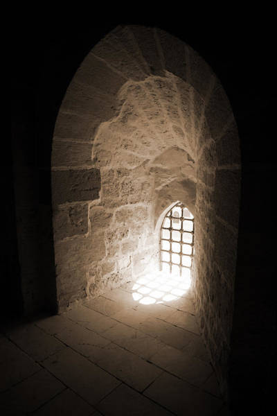 Photograph - Tunneled Arch Window by Donna Corless