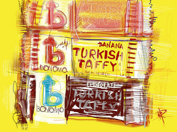 Turkish Mixed Media - Turkish Taffy by Russell Pierce