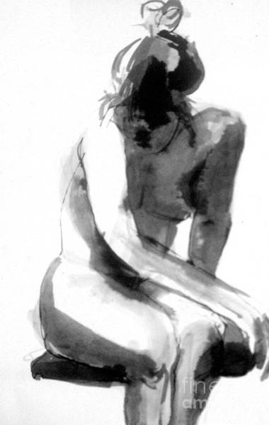 Art Print featuring the drawing Turn Back by Gabrielle Wilson-Sealy