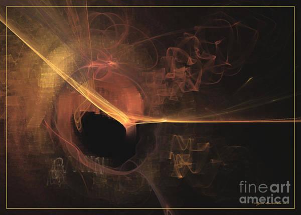 Digital Art - Turning Point - Abstract Art by Sipo Liimatainen