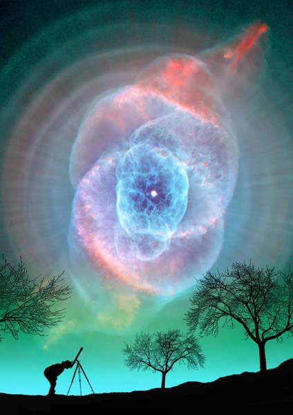 Photograph - Turquoise Super Nova by Larry Landolfi