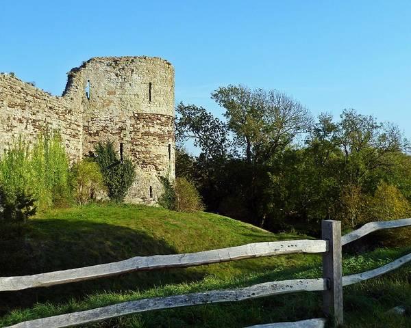 Roman Fort Photograph - Turrett Remains by Sharon Lisa Clarke