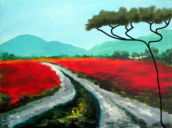 Painting - Tuscan Bliss by Larry Cirigliano