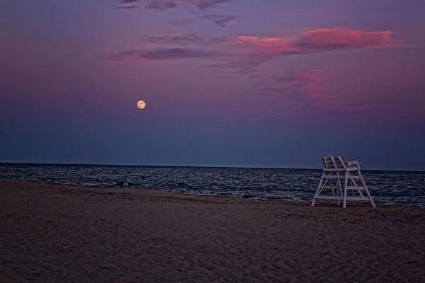 Photograph - Twilight And Moonlight by Tom Singleton