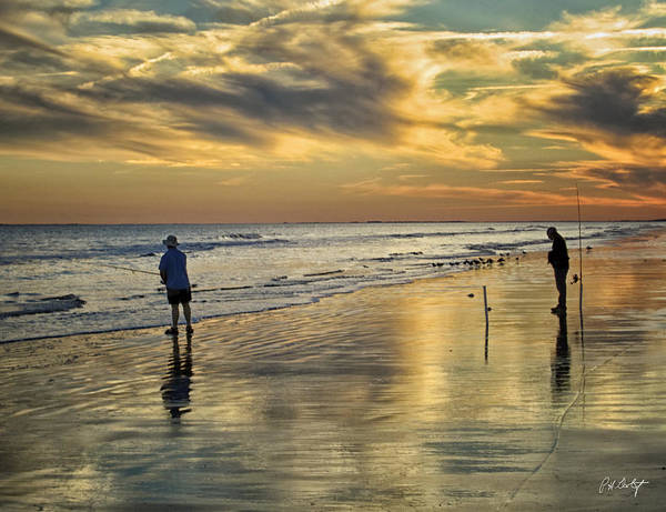 Hilton Head Island Photograph - Twilight Fishing by Phill Doherty