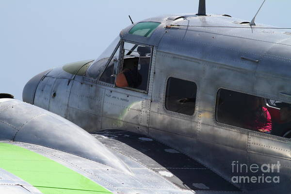 Photograph - Twin Beech C-45 Expeditor . 7d15685 by Wingsdomain Art and Photography