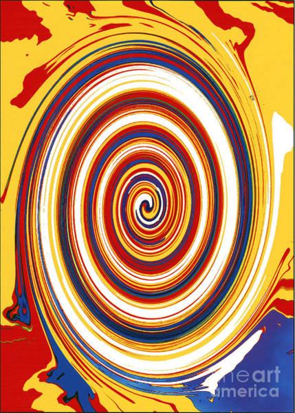 Digital Art - Twirl 1 by Bill Thomson