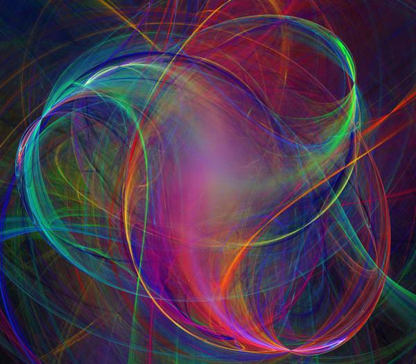 Twisted Digital Art - Twist by Ricky Barnard