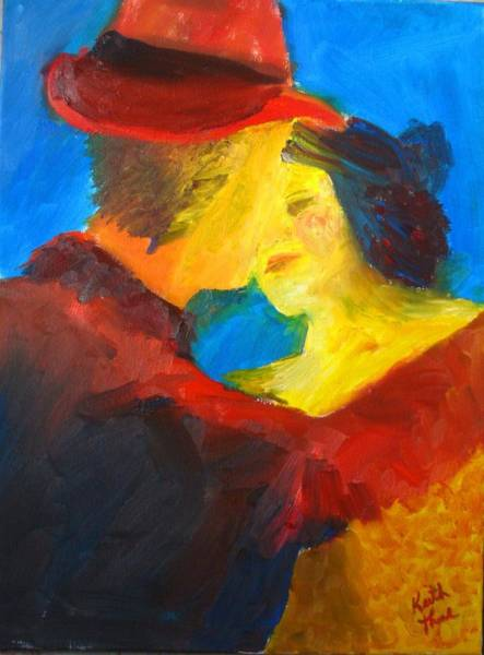 Painting - Two Am Tango by Keith Thue