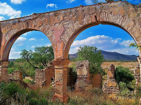 Photograph - Two Arches In Pozos by John  Kolenberg