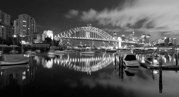 Photograph - Two Bridges by Mark Lucey