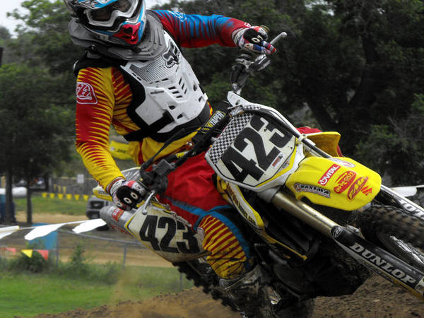 Dirtbike Photograph - Two Fingers by Darrell Moseley