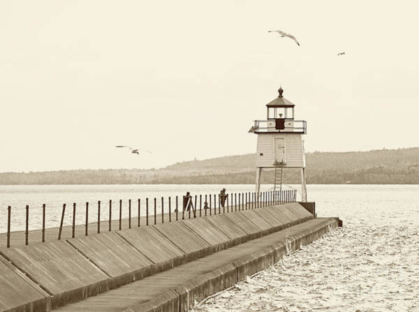 Two Harbors Art Print