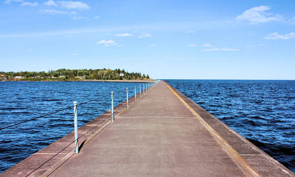 Wall Art - Photograph - Two Harbors Pier by Kristin Elmquist
