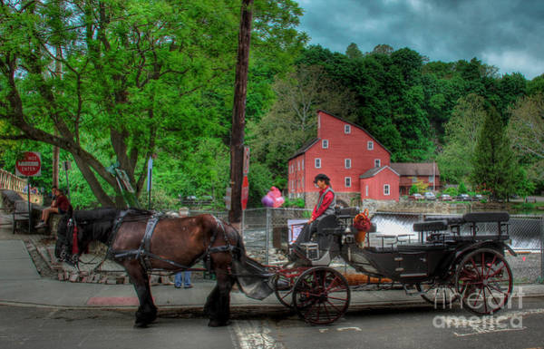 Wall Art - Photograph - Two Horses And A Carriage  by Lee Dos Santos