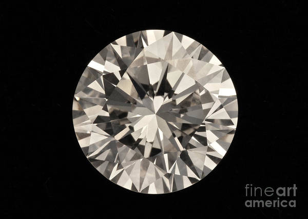 Photograph - Two Karat Diamond by Raul Gonzalez Perez