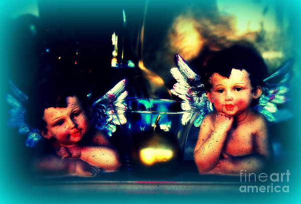 Photograph - Two Little Angels by Susanne Van Hulst