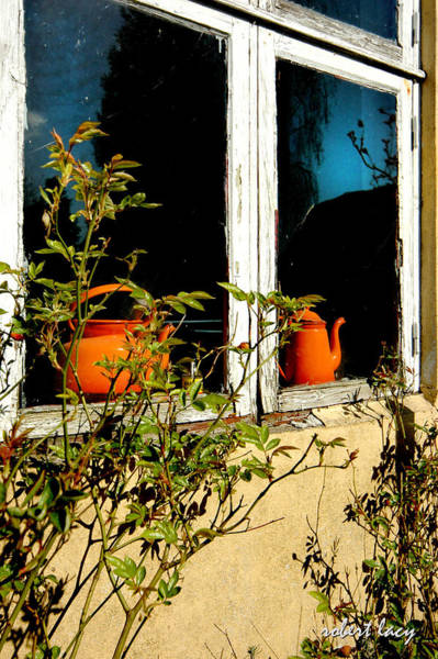 Wall Art - Photograph - Two Orange Pots by Robert Lacy