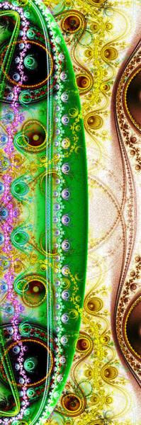 Julian Digital Art - Two Sides by Ester  Rogers