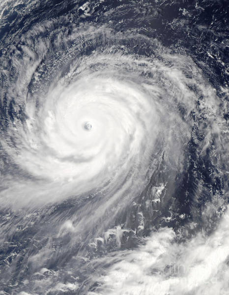 Photograph - Typhoon Choi-wan West Of The Mariana by Stocktrek Images
