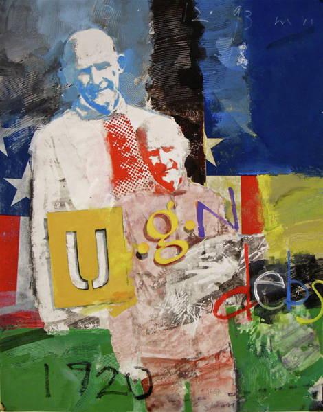 Painting - U G N Debs  -m- by Cliff Spohn