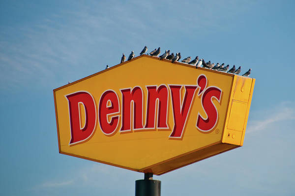 Photograph - Ubiquitous - Denny's by Guy Whiteley