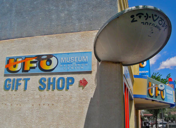 Photograph - Ufo Crash by Gregory Dyer