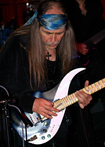 Photograph - Uli Jon Roth At The Grail 2008 by Ben Upham