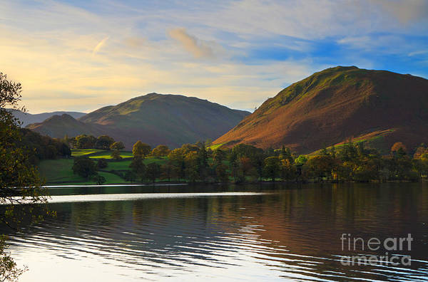 Ullswater Photograph - Ullswater In Early Morning In The Lake District by Louise Heusinkveld