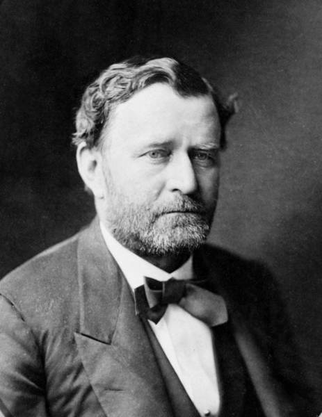 Wall Art - Photograph - Ulysses S Grant - President Of The United States Of America by International  Images