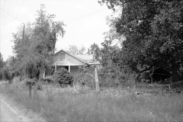 Photograph - Uncle Big Bud's House by Emery Graham