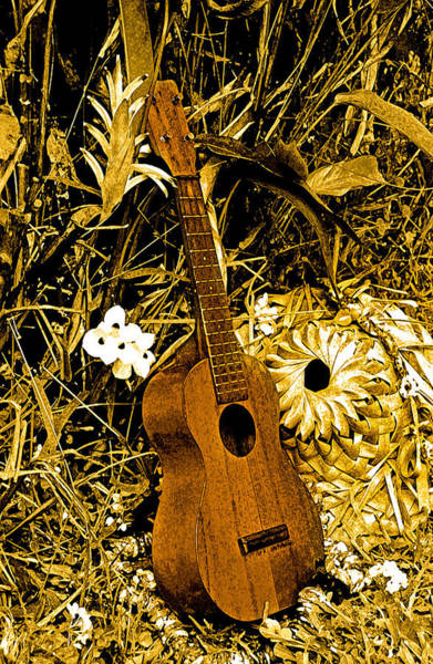 Photograph - Uncle Luthers Ukulele  by Randy Sylvia