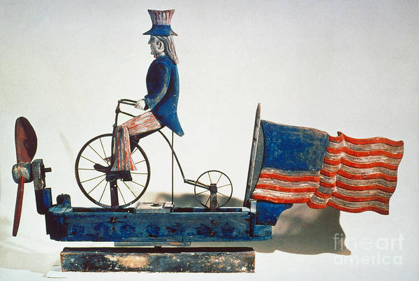Photograph - Uncle Sam Whirligig, C1876 by Granger